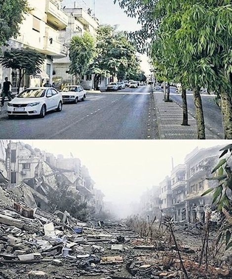 A-street-in-Homs-Syria-in-001